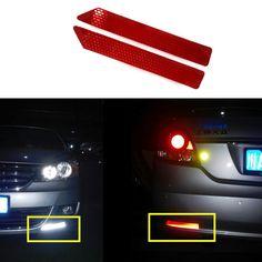 Auto Achterbumper Anti Collision kop-staart cars waarschuwing Protector kleurrijke Reflecterende Veiligheid Tape Waarschuwing Conspicuity Sticker