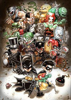 Batman Universe by Vinz El Tabanas