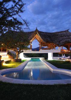 Shompole Lodge, near lakes Natron and Magadi, Kenya, Africa. Nice for honeymoon!