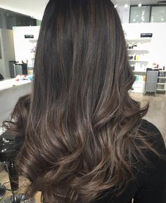 Smoky and sophisticated ash Brown Hair Color Flawless tones Of ash Colors that You Should Try Immediately Balayage Brunette, Hair Color Balayage, Brunette Hair, Hair Highlights, Ash Brown Balayage, Ash Brown Highlights, Peekaboo Highlights, Haircolor, Hair Color And Cut