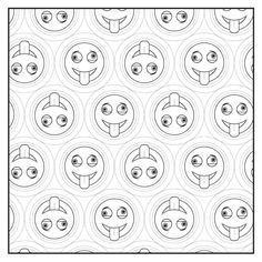 Emoji Crazy Coloring Book 48 Cute, Fun Pages: For Adults, Teens and Kids Great Party Gift Emoji Coloring Pages, Pattern Coloring Pages, Coloring Book Art, Colouring Pages, Adult Coloring Pages, Emoji Design, Tote Pattern, Flower Fairies, Zentangle Patterns