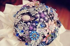Brooches...the NEW flower? ~ Brooch Bouquets ~ Custom Designed Bouquet Service   Georgia Watson Events Inc. ~ Weddings by Georgia