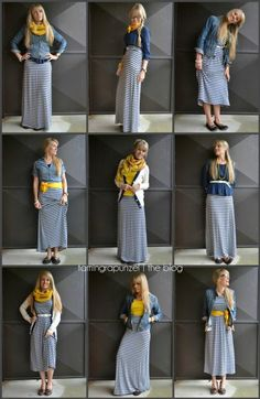 Maxi mixup. I love all these ideas!