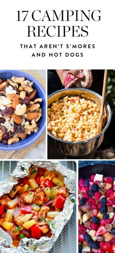 The absolute best camping recipes that aren't s'mores or hot dogs. Now that's the kind of campfire food that we can get on board with. #Camping