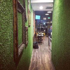 Loving the astroturf walls at the new local eatery, Grater Grilled Cheese Shop. #delmar #gratercheese #grilledcheese #newnomnoms #sandiegoconnection #sdlocals #delmarlocals - posted by Dawn https://www.instagram.com/mrs.fussyd. See more post on Del Mar at http://delmarlocals.com