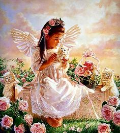 "✨ Angelic assistance is part of God's universal plan of salvation...Angels...are like God's agents in the field. He purposely uses them to introduce images, tendencies, and desires that lead us to do what is right and good. - Mary Drahos,  ""Angels of God, Guardians Dear"" ✨"