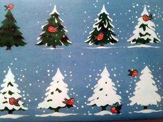 Vintage Retro Kitsch Robin Christmas Cards by KonnieKapow on Etsy, $8.00