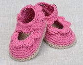 Sandalias de bebé ganchillo patrón con vieiras fácil ganchillo patrón bebé zapatos 3 tamaños bebé botines Tutorial Digital instantáneo de descarga de archivos