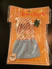 Barbie & Stacey - 1967 - New in Pack Outfit - Teen Fashions/Mattel - No Reserve
