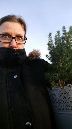 Mig og mit store juletræ