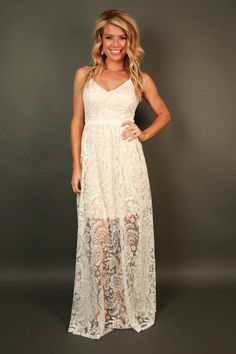 Luxe in Lace Maxi
