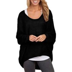 online shopping for ZANZEA Women's Sexy Long Batwing Sleeve Loose Pullover Casual Top Blouse T-Shirt from top store. See new offer for ZANZEA Women's Sexy Long Batwing Sleeve Loose Pullover Casual Top Blouse T-Shirt New Mode, Blouses For Women, Sweaters For Women, Ladies Blouses, Blouses 2017, Ladies Shirts, Women's Blouses, Ladies Tops, Tunics