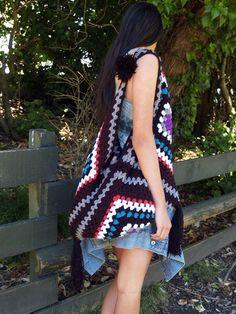 Crochet Granny Bag Idea