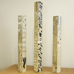 Adele Sypesteyn, Columns, mixed media