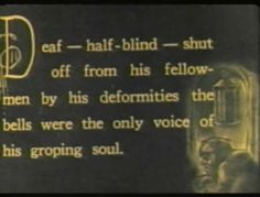 The Hunchback of Notre Dame with Lon Chaney