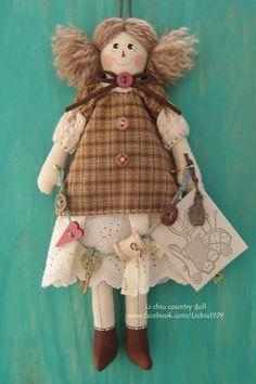 Li chiu手作小屋 - 25.5cm鄉村娃娃