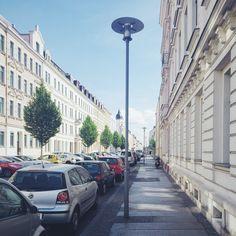 Street in Leipzig
