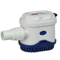 Rule-Mate® 1100 Automatic Bilge Pump - https://www.boatpartsforless.com/shop/rule-mate-1100-automatic-bilge-pump/