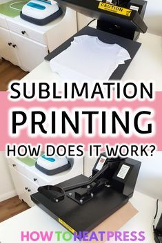 What Is Sublimation Printing? How To Get Started Today Sublimation Printing: How Does it Work? Cricut Iron On Vinyl, Tshirt Business, Sublime Shirt, Cricut Craft Room, Cricut Tutorials, Heat Transfer Vinyl, Transfer Paper, Vinyl Projects, Making Ideas