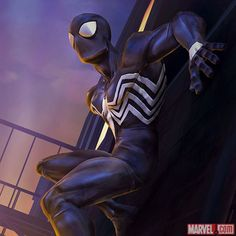 Marvel Contest of Champions - Entering Marvel Contest of Champions: Black Suit Spider-Man Marvel Comics, Marvel Venom, Marvel Vs, Marvel Heroes, Marvel Characters, Amazing Spiderman, Spiderman Art, Spiderman Symbiote, Spiderman Black Suit