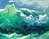 "390  teensy  art, 1""x 1""  original miniature oil painting on 1/8 artist board."