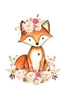It's so cute ordered some wallets, digital… – – Zeichnungen❤/Kunst – Welcome The Crafts Fuchs Illustration, Cute Illustration, Cute Animal Drawings, Cute Drawings, Watercolor Animals, Watercolor Art, Scrapbooking Image, Fox Art, Cute Fox