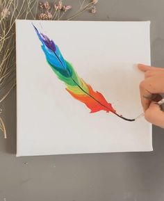 Private customization of oil painting, oil painting consultation, oil painting online gallery, professional handmade painting. things ideas beautiful Simple and innovative Oil painting, Colorful feather # DIY Oil painting # Oil painting Online Painting, Diy Painting, Painting & Drawing, Acrylic Art Paintings, Simple Paintings, Simple Oil Painting, Moon Painting, Landscape Paintings, Diy Canvas Art