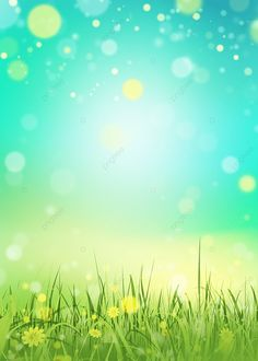 Grass Background, Light Effect, Anime Scenery, Spring Green, Wallpaper Backgrounds, Northern Lights, Walls, Sun, Nature