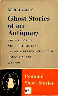 Ghost Stories of an Antiquary by M. Vintage Penguin, Ghost Stories, Read More, Penguins, Books, Ebay, Libros, Book, Penguin