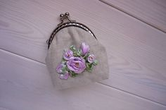 A personal favourite from my Etsy shop https://www.etsy.com/listing/524206365/coin-purse-rose-wallet-for-her-roses
