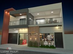 Apartment 8 Clothing, 2 Storey House Design, Loft, Mansions, The Originals, House Styles, Building, Modern, Bakery Interior