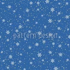 Winter Snow Is Falling Design Pattern Vector Pattern, Pattern Design, Winter Snow, Surface Design, Dots, Patterns, Fall, Stitches, Block Prints