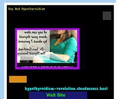 Soy And Hypothyroidism 134023 - Hypothyroidism Revolution! Hypothyroidism Revolution http://hypothyroidism-revolution-h.blogspot.com?prod=XinJihxC
