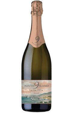 Ninth Island Sparkling Rose NV Tasmania Bottles Sparkling Wine, Tasmania, Wines, Champagne, Bottles, Sparkle, Island, Rose, How To Make