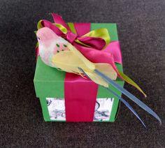 Le Paquet: Reciclando - convite vira embalagem
