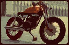 #mumbai #caferacer #concept #motorcycle #BCW