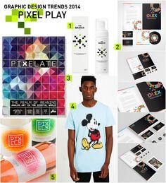 2014 Graphic Design Trends: Pixel Play