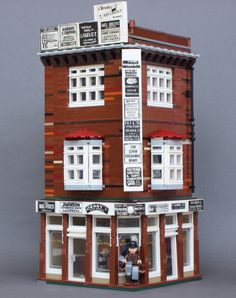 LEGO Old Western Style Corner Building