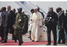 #PopeFrancis arrives in the Central African Republic - Vatican Radio