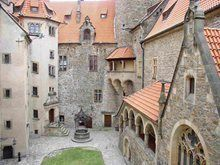 Bouzov castle, Czech Republic   photo researched by http://www.iconhotel.eu/en/contact/how-to-find-us