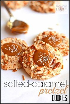 Salted Caramel Pretzel Cookie Recipe. The name says it all. Salted Caramel. Pretzel. Cookie. Let's just say, this cookie has solved many world issues. I promise...this cookie will change your life.