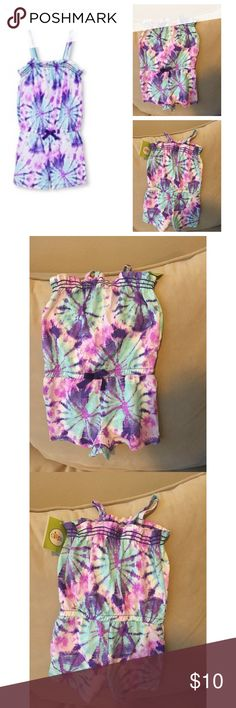 Brand new with tags Circo romper; size 18mnths Tie dye romper. Brand new with tags for 18mnths Circo Dresses Casual