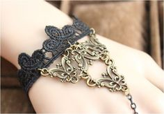Bracelets Type: Charm Bracelets Gender: Women Clasp Type: Lobster Material: Lace Length: 13cm Setting Type: Prong Setting Style: Romantic Shape\pattern: Round Chain Type: Link Chain Fine or Fashion: F