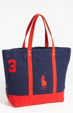 408d5b9ec370 Polo Ralph Lauren Tote Bag