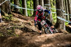 Tracey Hannah shares her thoughts on the fine line in MTB racing between fast enough and too fast.