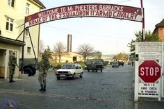 bad hersfeld germany | Bad Hersfeld - McPheeters Main Gate, 1992.