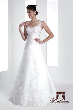 Wedding Dresses by Hadassa at Bridal Allure Wedding Dresses For Sale, Designer Wedding Dresses, Wedding Gowns, Ariel Dress, Cape Town South Africa, Silver Stars, Lace Applique, Lace Detail, One Shoulder Wedding Dress