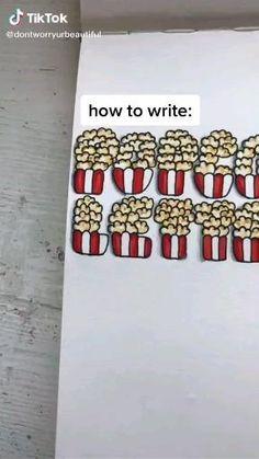 Hand Lettering Art, Hand Lettering Tutorial, Creative Lettering, Cool Lettering, Journal Fonts, Bullet Journal Lettering Ideas, Bullet Journal Ideas Pages, Bullet Journal Inspiration, Bullet Journal Banner