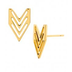 Chevron Tribal Studs