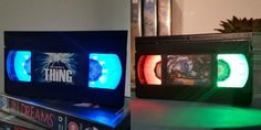 These Horror VHS Lamps Are a Must-Have for Retro Horror Fans!